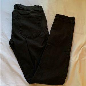 gap black jean